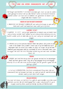 tips voor een betere communicatie met je kind