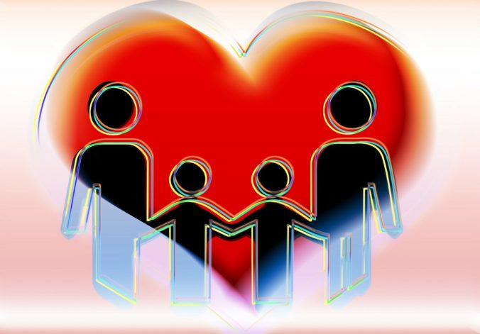 gezin, liefde